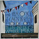The Sea by samcannonart