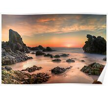 Coastal Sunrise. Poster