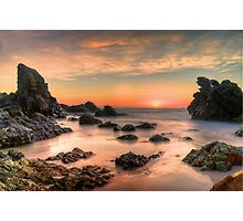 Coastal Sunrise. Photographic Print