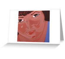 Self portrait 2007 Greeting Card