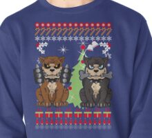 Pit bull Christmas Sweater Pullover