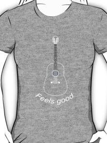 Guitar feels good wt T-Shirt