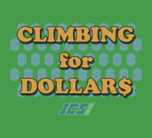 Climbing for Dollars - The Running Man Kids Clothes