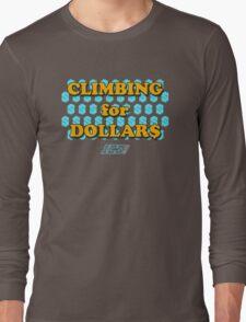 Climbing for Dollars - The Running Man Long Sleeve T-Shirt