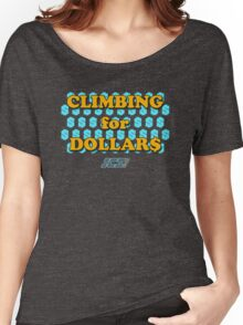 Climbing for Dollars - The Running Man Women's Relaxed Fit T-Shirt