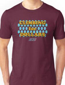 Climbing for Dollars - The Running Man Unisex T-Shirt
