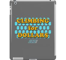 Climbing for Dollars - The Running Man iPad Case/Skin