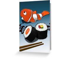 Asian Food Greeting Card