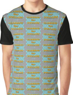 Climbing for Dollars - The Running Man Graphic T-Shirt