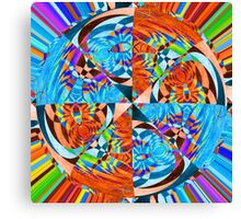 Opposing Forces Canvas Print