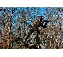 Gettysburg National Park - Mississippi Memorial Photographic Print