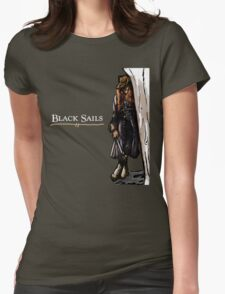 Anne Bonny - Black Sails Womens Fitted T-Shirt