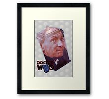 William Hartnell Poster Framed Print