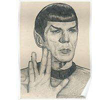 Spock Poster