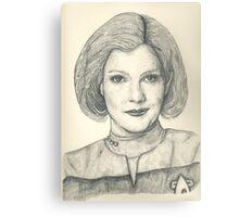 Captain Janeway Canvas Print