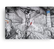 The Passion at Glasgow Cross Canvas Print