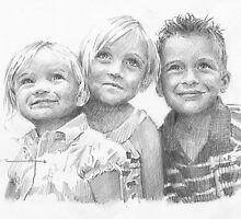 Day at Chuck-e-Cheese drawing by Mike Theuer