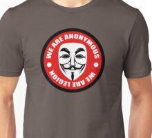 Anonymous - we are legion Unisex T-Shirt