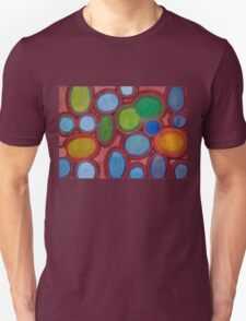 Moving coloured Round Shapes T-Shirt