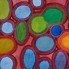 Moving coloured Round Shapes by Heidi Capitaine
