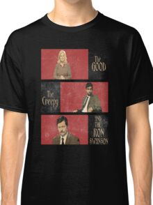 The Good...The Creepy..AND THE RON SWANSON Classic T-Shirt