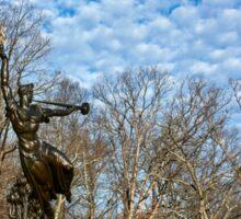 Gettysburg National Park - Louisiana Memorial Sticker