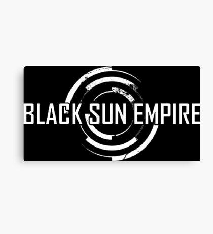 Black Sun Empire LOGO Canvas Print