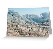 winters grip Greeting Card