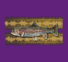 tattoo rainbow trout by dennis william gaylor