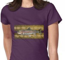 tattoo rainbow trout Womens Fitted T-Shirt