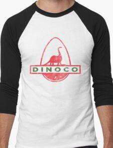 Dinoco Men's Baseball ¾ T-Shirt