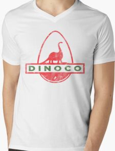 Dinoco Mens V-Neck T-Shirt