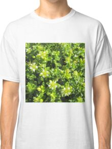 Small flowers in the forest Classic T-Shirt