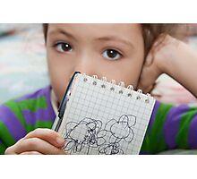 Little Artist Photographic Print