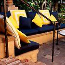 Casita Bench Area by phil decocco