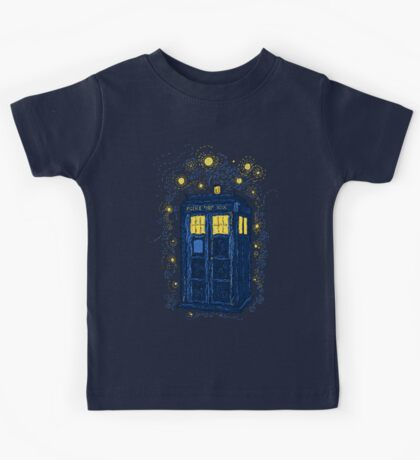 Space Time Impressionism Kids Tee