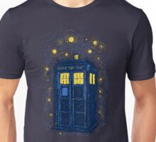 Space Time Impressionism Unisex T-Shirt
