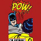Caped Crusader slapping Robin by its-mr-towel