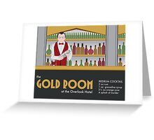The Gold Room Greeting Card
