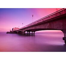 The Pier Ghost Photographic Print