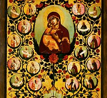 genealogy of the state of muscovy panegyric to our lady of vladimir by Adam Asar