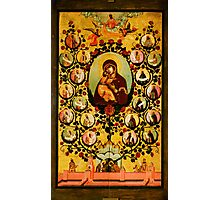 genealogy of the state of muscovy panegyric to our lady of vladimir Photographic Print