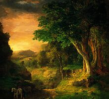 George Inness In the Berkshires by Adam Asar