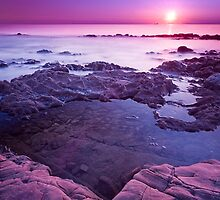 Purple Sunset by Fabio Catapane