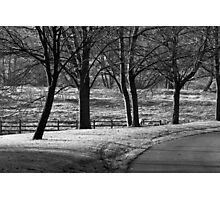 On A Cold Frosty Morning.. Photographic Print