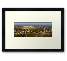 Guildford Cathedral in Surrey Framed Print