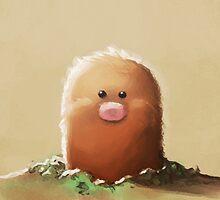 Diglett Dig, Diglett Dig by Blueberry-Cat