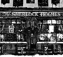 The Sherlock Holmes Pub Art by DavidHornchurch