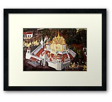 Grand Palace Bangkok Thailand 8 Framed Print