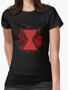Deadly Little spider Womens Fitted T-Shirt